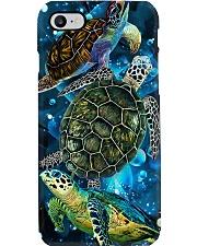 TURTLE MANDALA LIGHT FLOWER STYLE  Phone Case i-phone-7-case