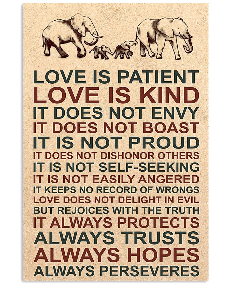 LOVE IS KIND 16x24 Poster