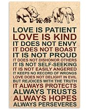 LOVE IS KIND 16x24 Poster front