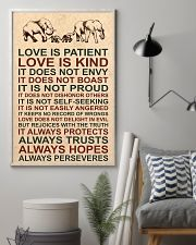 LOVE IS KIND 16x24 Poster lifestyle-poster-1
