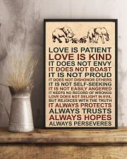 LOVE IS KIND 16x24 Poster lifestyle-poster-3