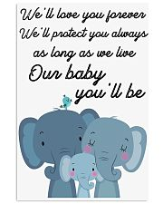 OUR BABY 16x24 Poster front