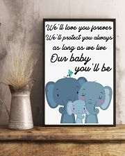 OUR BABY 16x24 Poster lifestyle-poster-3