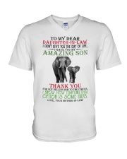 DAUGHTER IN LAW V-Neck T-Shirt thumbnail