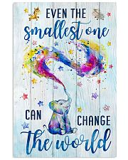 CHANGE THE WORLD 16x24 Poster front