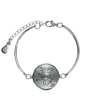 THE SOUND OF MY HEART FROM THE INSIDE  Metallic Circle Bracelet thumbnail