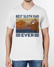 SLOTH VINGATE STYLE TSHIRT V-Neck T-Shirt garment-vneck-tshirt-front-01