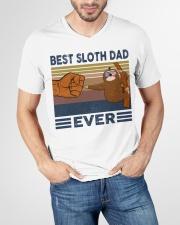 SLOTH VINGATE STYLE TSHIRT V-Neck T-Shirt garment-vneck-tshirt-front-lifestyle-01