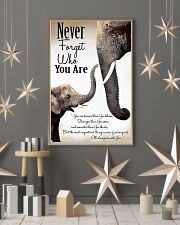 NEVER FORGET THO YOU ARE 24x36 Poster lifestyle-holiday-poster-1