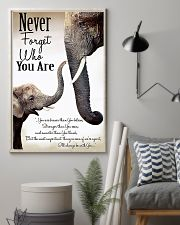 NEVER FORGET THO YOU ARE 24x36 Poster lifestyle-poster-1