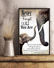 NEVER FORGET THO YOU ARE 24x36 Poster lifestyle-poster-3