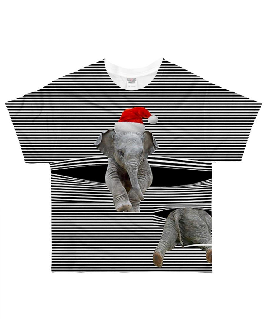 ELEPHANTS All-over T-Shirt