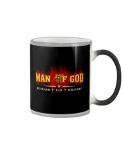 MAN OF GOD MILITARY STYLE  Color Changing Mug thumbnail