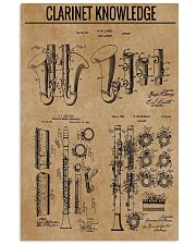 Clarinet 16x24 Poster front