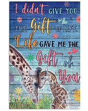 Giraffe - I did not give you 16x24 Poster front