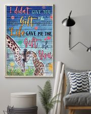 Giraffe - I did not give you 16x24 Poster lifestyle-poster-1