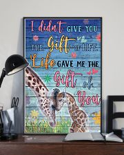 Giraffe - I did not give you 16x24 Poster lifestyle-poster-2