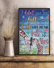 Giraffe - I did not give you 16x24 Poster lifestyle-poster-3
