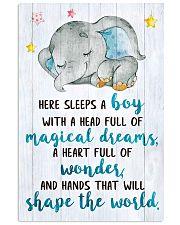 SLEEPS A BOY 16x24 Poster front