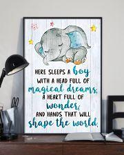 SLEEPS A BOY 16x24 Poster lifestyle-poster-2