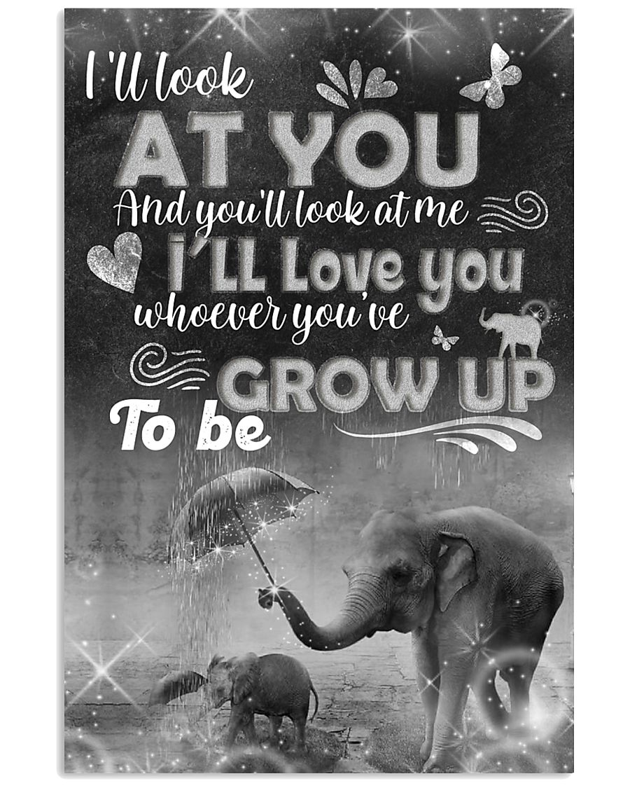 Elephant - i'll look at you  posster 16x24 Poster