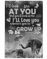 Elephant - i'll look at you  posster 16x24 Poster front