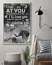Elephant - i'll look at you  posster 16x24 Poster lifestyle-poster-1