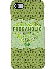 Frog Aholic  Phone Case i-phone-8-case