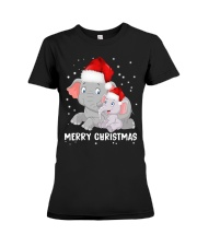 Merry Christmas Premium Fit Ladies Tee thumbnail
