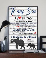 TO MY SON 16x24 Poster lifestyle-poster-2