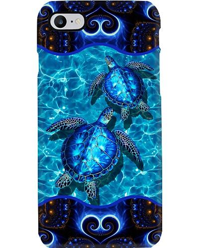 Turtles phone case