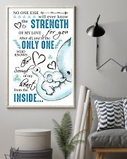 THE SOUND OF MY HEART FROM THE INSIDE 16x24 Poster lifestyle-poster-1
