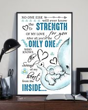 THE SOUND OF MY HEART FROM THE INSIDE 16x24 Poster lifestyle-poster-2
