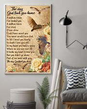 Owl the day God took you home 16x24 Poster lifestyle-poster-1