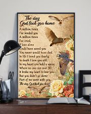 Owl the day God took you home 16x24 Poster lifestyle-poster-2