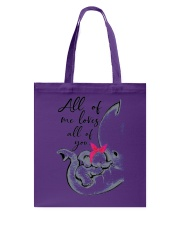 ALL OF ME LOVES ALL OF YOU Tote Bag thumbnail