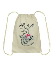 ALL OF ME LOVES ALL OF YOU Drawstring Bag thumbnail