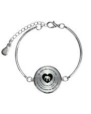MY MIND STILL TALKS TO YOU Metallic Circle Bracelet thumbnail