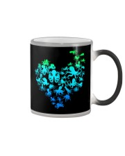 OCTOPUS GADIENT STYLE TSHIRT Color Changing Mug tile
