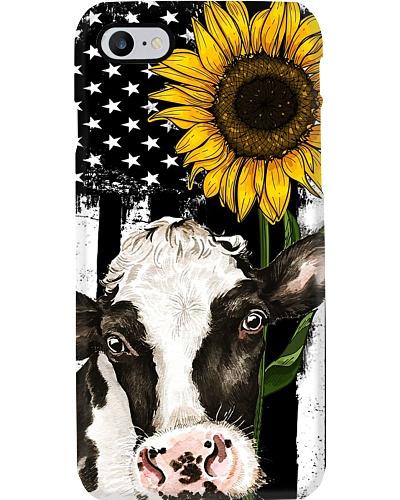 American Flag Sunflower Dairy Cattle