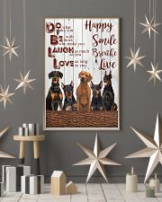 Doberman 24x36 Poster lifestyle-holiday-poster-1