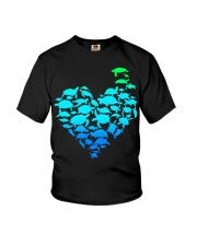 TURTLE GADIENT STYLE TSHIRT Youth T-Shirt thumbnail