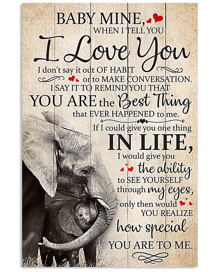 BABY I LOVE YOU 16x24 Poster