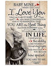 BABY I LOVE YOU 16x24 Poster front