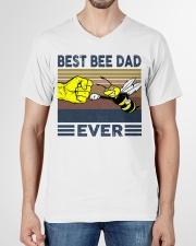 BEE VINGATE STYLE TSHIRT V-Neck T-Shirt garment-vneck-tshirt-front-01