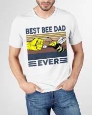 BEE VINGATE STYLE TSHIRT V-Neck T-Shirt garment-vneck-tshirt-front-lifestyle-01