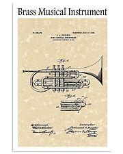 Brass Musical Instrument 1906 16x24 Poster front