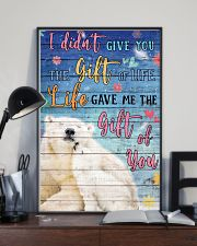 Polar Bear - I did not give you 16x24 Poster lifestyle-poster-2