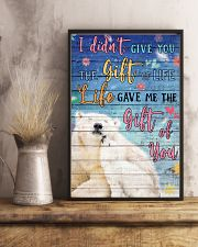 Polar Bear - I did not give you 16x24 Poster lifestyle-poster-3