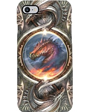 DRAGON FIRE METAL STYLE Phone Case i-phone-8-case
